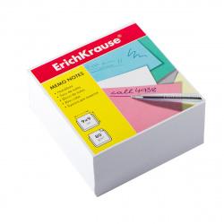 Блок для записей 90*90*50мм, куб, не склеенный, белый Erich Krause 2717