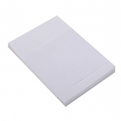 Блок для записей 90*130мм, листовой, не склеенный, белый Полином 2308