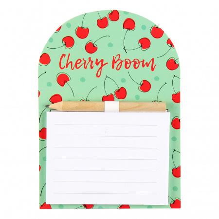 Блок для записей 14*10 40л склейка на магните 212291 Cherry Boom КОКОС