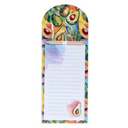 Блок для записей 10,5*27 40л склейка на магните 210022 Avocado Art КОКОС