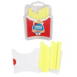 Закладки клейкие бумажные 10*90 6*60л КОКОС Картошка фри 190122