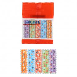 Закладки клейкие Color pattern бумага, 12*44мм, 5 цветов, 20л, рисунок deVENTE 2011018
