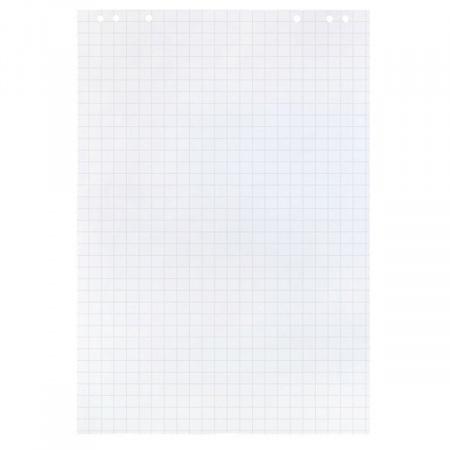Бумажный блок для флипчарта   20л, 640*960мм, клетка, 80г/кв.м. Hatber SFb_20041