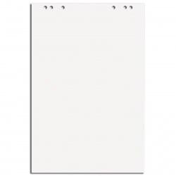 Бумажный блок для флипчарта 20л, 675*980мм, без линовки 445525