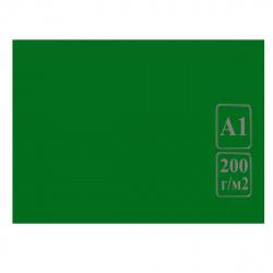 Ватман   тонированный, А1 (600*840мм), 200г/кв.м., 100л, зеленый Лилия Холдинг КЦА1зел.