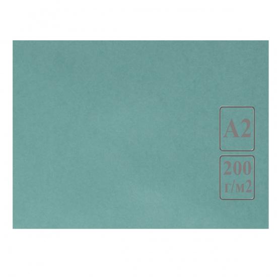 Ватман   тонированный, А2 (420*594мм), 200г/кв.м., 50л, зеленый Лилия Холдинг КЦА2зел.