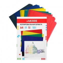 Бумага копировальная А4, 50л, цвет 5 цветов deVENTE 2041900