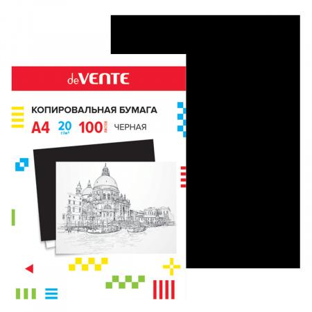 Бумага копировальная 100л deVENTE 2041303 черная