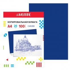Бумага копировальная 100л deVENTE 2041302 синяя