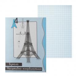 Бумага миллиметровая А4 20л Башня 15663