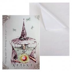 Калька для чертежей и дизайнерских работ в папке А2 420*594 40л КДР/А2