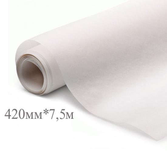 Калька 420мм*7,5м, плотность 25г/кв.м., под карандаш AstKanz АК80-К420/10