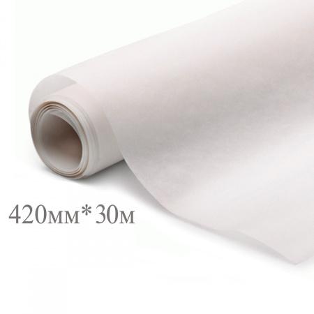 Калька 420мм*30м, плотность 25г/кв.м., под карандаш AstKanz АК80-К420/40