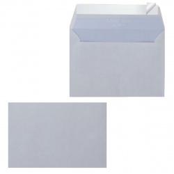 Конверт 114*162 С6 силиконовая лента чистый внутренняя запечатка С6НКС_Grey/С6НКСР