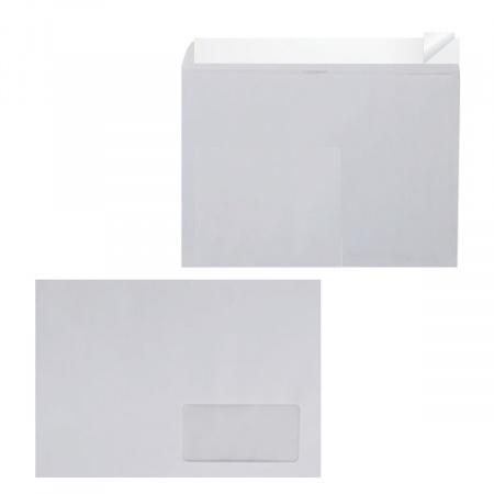 Конверт 162*229 С5 силиконовая лента чистый правое окно С5 EPC5S00WD/П-1421/С5НКС_О