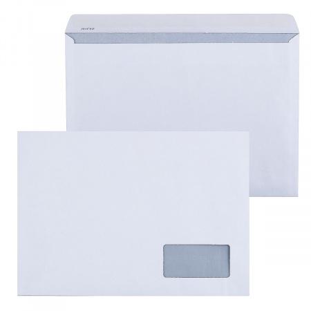 Конверт 229*324 С4 силиконовая лента чистый правое окно внутренняя запечатка П.3687/121102/С4_НКСОз_Б