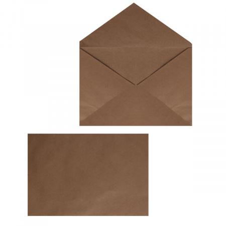 Конверты почтовые 229*324мм (С4), чистый, крафт, клей без клеевой основы Ряжская печатная фабрика ОАО 76421