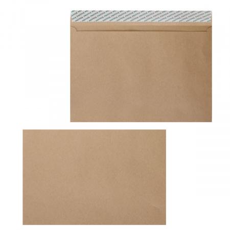 Конверт 229*324 С4 силиконовая лента чистый крафт П-1604/122135