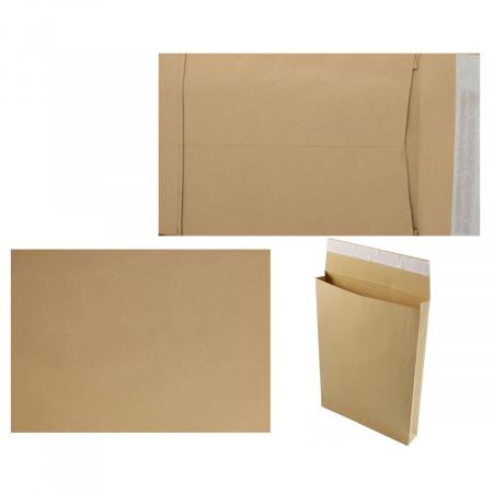 Конверт 229*324*38 силиконовая лента чистый С4 крафт пакет с расширением П-14064/381227