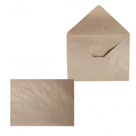 Конверты почтовые 290*390мм, чистый, крафт, клей без клеевой основы Ряжская печатная фабрика ОАО 2939 КТ