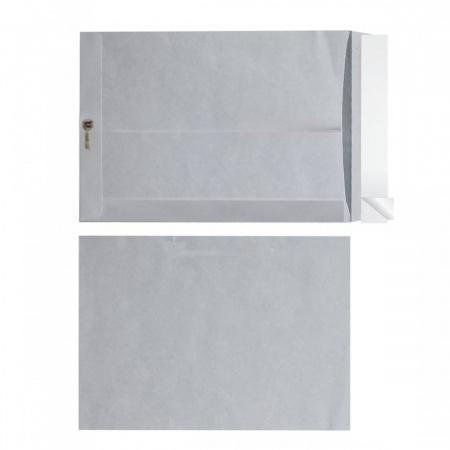 Конверт 300*400 силиконовая лента чистый пакет белый офсет 76433/300401