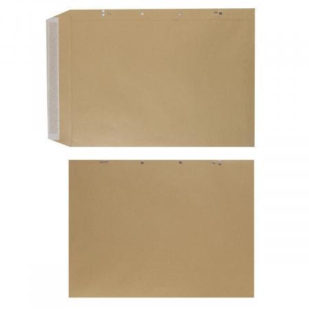 Конверт 300*400 силиконовая лента чистый крафт 312017