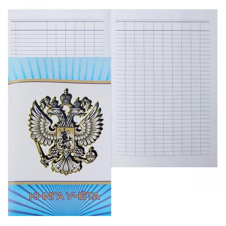 Книга учета 48л А4 (205*285) пустографка офсет обложка мелованный картон МБ-48