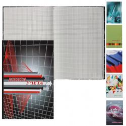 Книга учета 96л А4 (200*290) клетка газетка твердая обложка картон ламинированный 2056415/КУ411