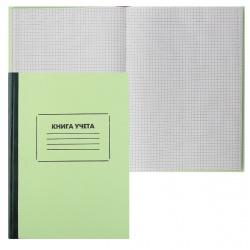 Книга учета 96л А4 (205*290) клетка газетка твердая обложка картон 2056410/КУ-211