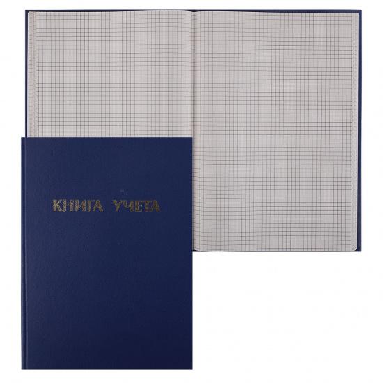Книга учета 96л, А4, 200*290мм, клетка, газетка Ульяновский Дом Печати КУ-511