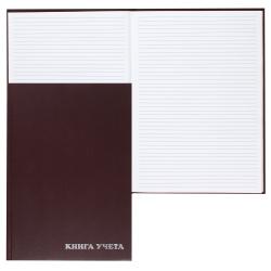 Книга учета 96л А4 (200*290) пустогравка офсет твердая обложка бумвинил 2056427/КУ-523