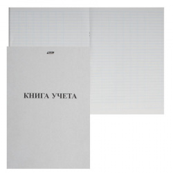 Книга учета 48л, А4, 205*295мм, пустографка, офсет Hatber 48Т4B5_03963