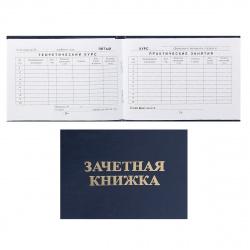 Зачетная книжка ВУЗ 105*135мм в жестком переплете Имидж ЗКВ-203