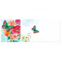 Открытка 140*163 Цветы апплик Арт Дизайн 0572.649