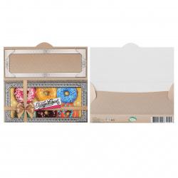 Открытка-конверт для денег 85*165 Поздравляем! текст глянц лам выб лак с блест Мир открыток 2-16-1728А