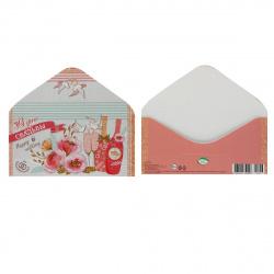 Открытка-конверт для денег 85*165 В день свадьбы! глянц лам Мир открыток 4-15-753А