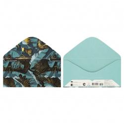 Открытка-конверт для денег 84*168мм, тиснение фольгой Без названия Мир поздравлений 078.940