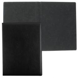 Папка адресная без тиснения А4+ кожа Dino Rolf PA-B черн