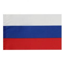 Настольный флаг России полиэфир 15*23см