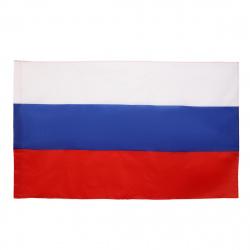 Флаг России полиэфир 0,90*1,45м для помещений, улицы KLERK 183166/Y542