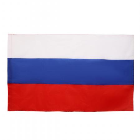Флаг России полиэфир 0,90*1,45м для улицы и помещений KLERK 183166