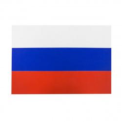 Флаг России флажный трикотаж 0,9*1,35м для помещений