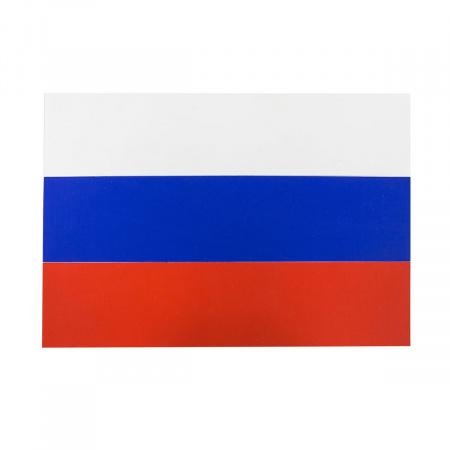 Флаг России флажный трикотаж 0,9*1,35м для улицы и помещений