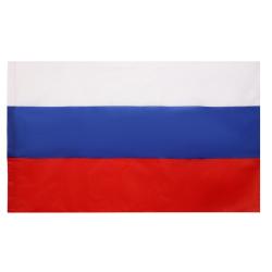 Флаг России 1000*1500мм, сатен, для помещений, без подставки и флагштока