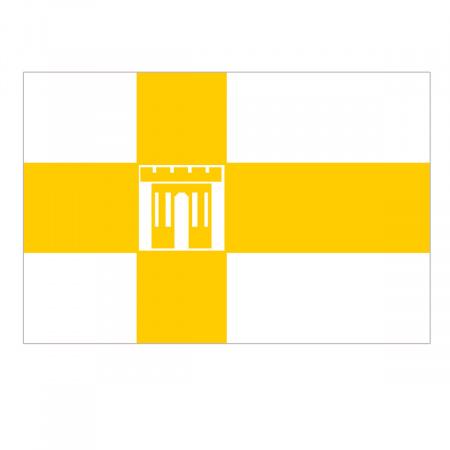 Флаг Ставрополя флажный трикотаж 0,9*1,35м для улицы и помещений