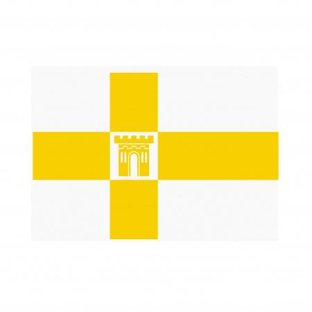 Флаг Ставрополя полиэфир 1,0*1,5м для помещений, улицы