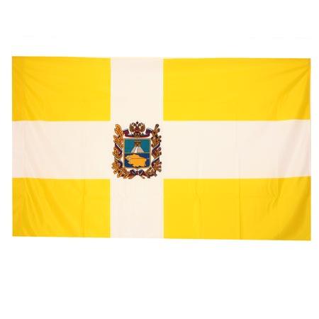 Флаг Ставропольского края полиэфир 0,9*1,35м для улицы и помещений 2110326