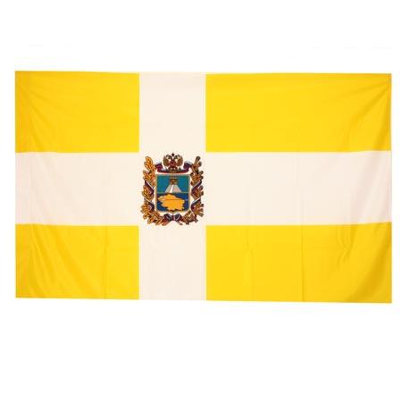 Флаг Ставропольского края флажный трикотаж 0,9*1,35м для улицы и помещений