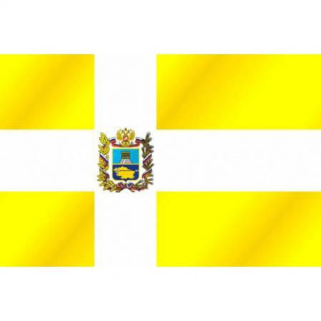 Флаг Ставропольского края флажный трикотаж 1,0*1,5м для улицы и помещений