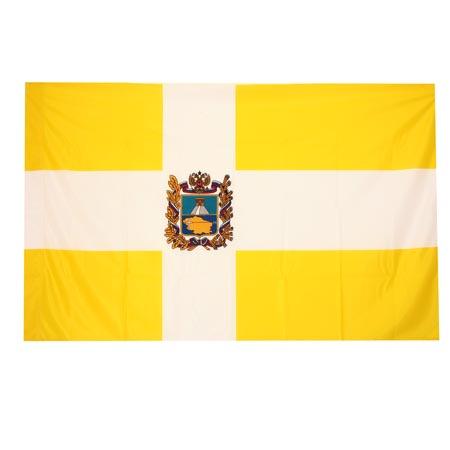 Флаг Ставропольского края мокрый шелк 1,0*1,5м для помещений 2211326